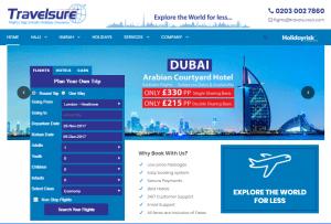 Travelsureuk.com Homepage