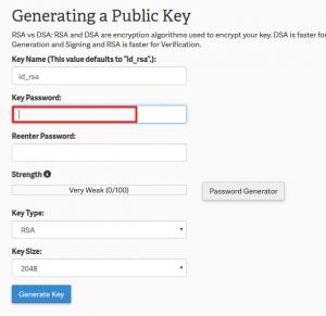 SSH key A
